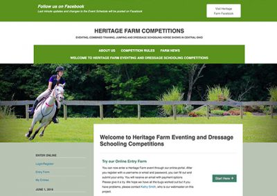 Heritage Farm Eventing